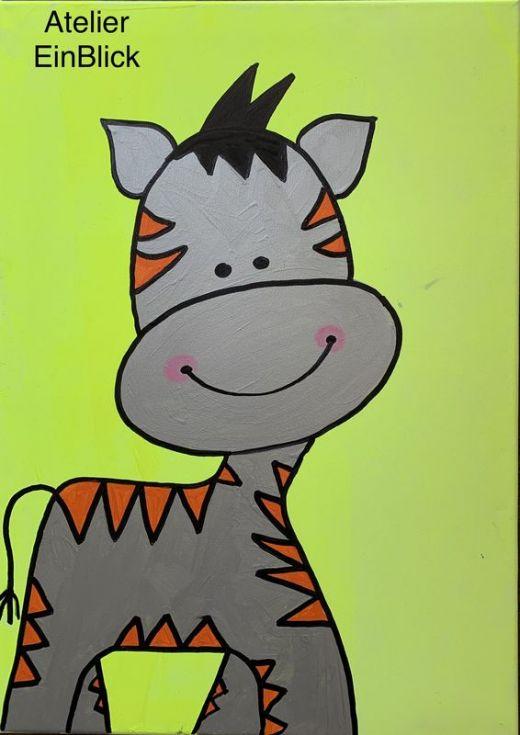 Zebra-Pferdchen